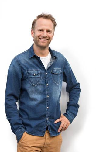 Tim de Boer, mede-oprichter van Atelier09