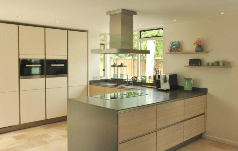 Keuken van woning in Heiloo