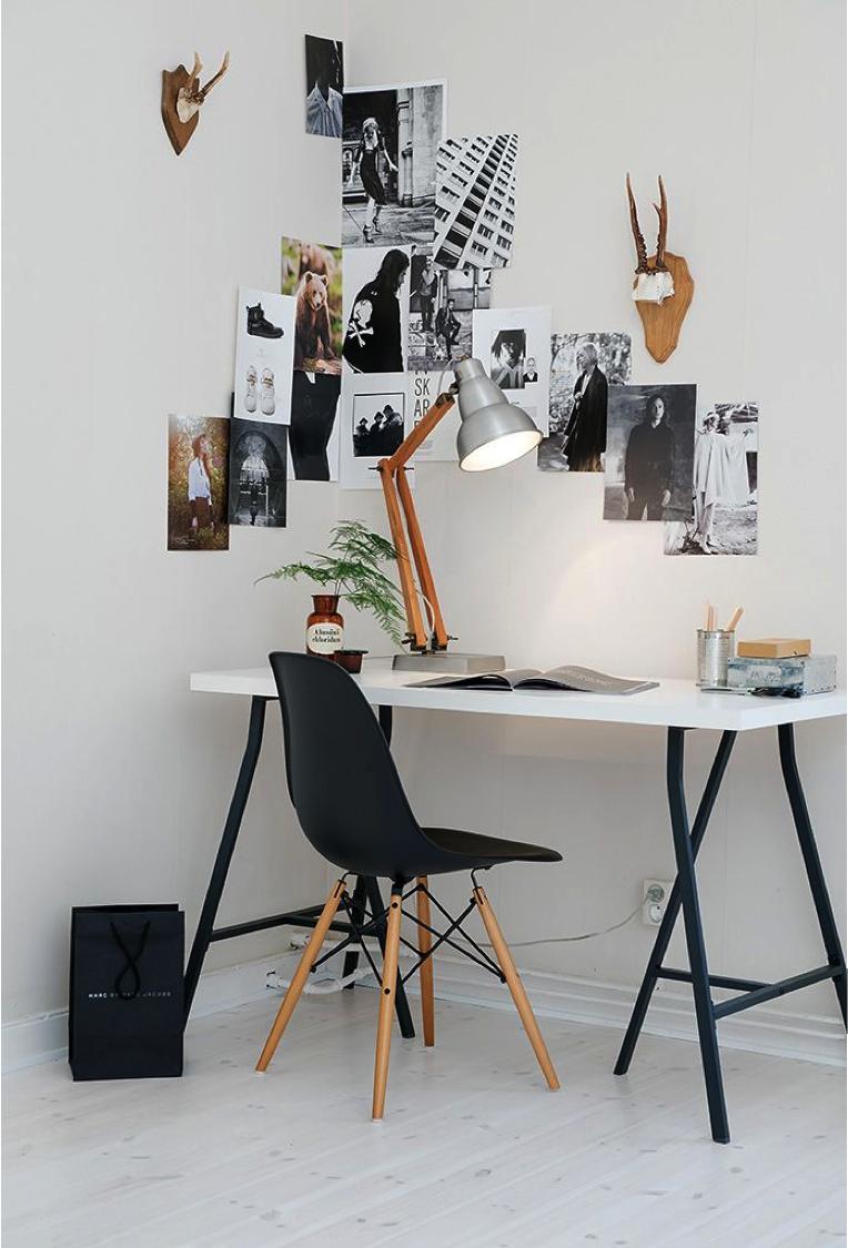 Tips voor een effectievere thuis werkplek atelier09 - Een hoek thuis ...