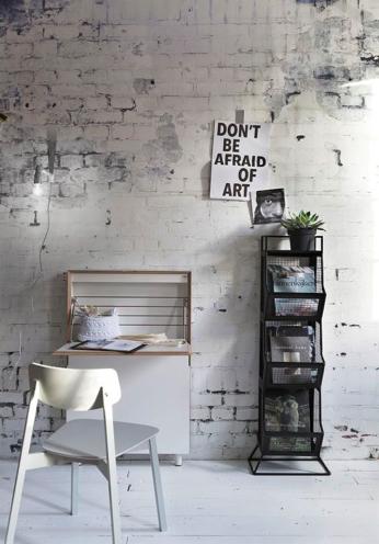 Stenen muur voor woonkamer interieur meubilair idee n - Bakstenen muur woonkamer ...