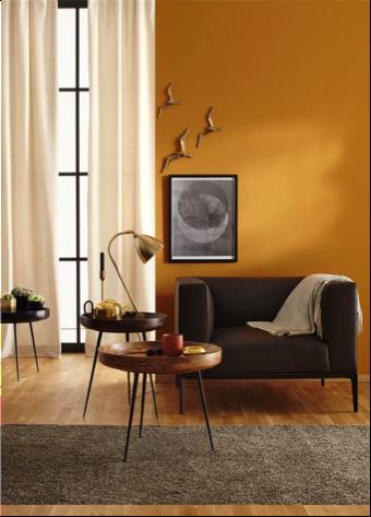 Hulp bij het kiezen van de juiste kleur op de muur atelier09 - Kleur warm ...