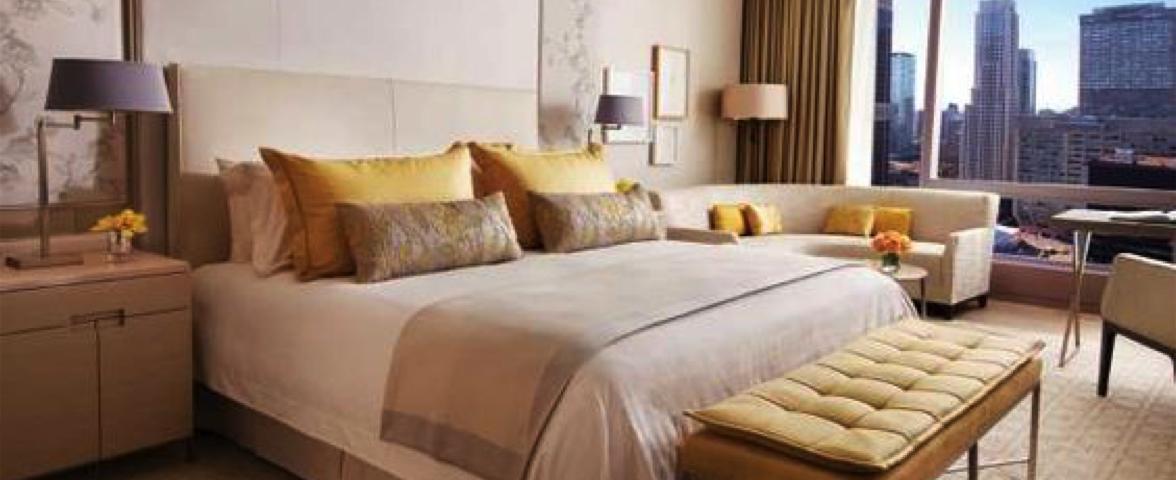 Four seasons hotelkamer