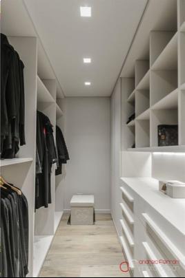 Walk-in closet recht