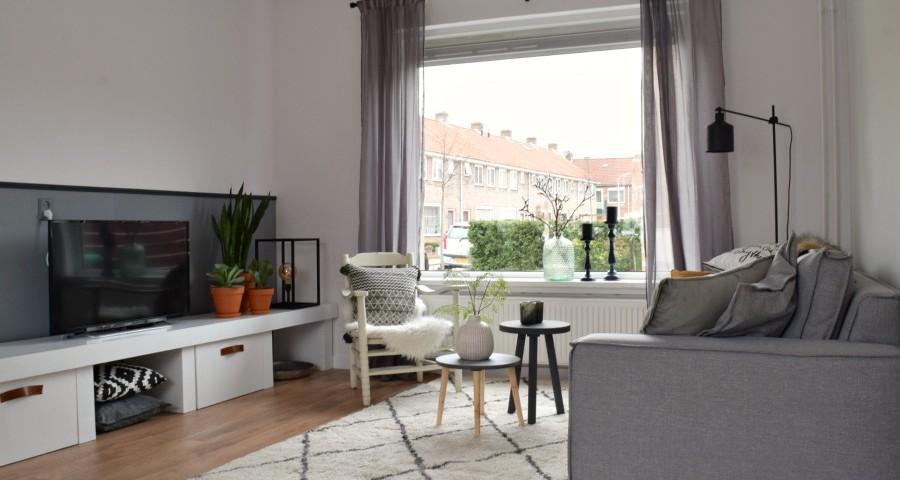Overzicht van de woonkamer - Atelier09