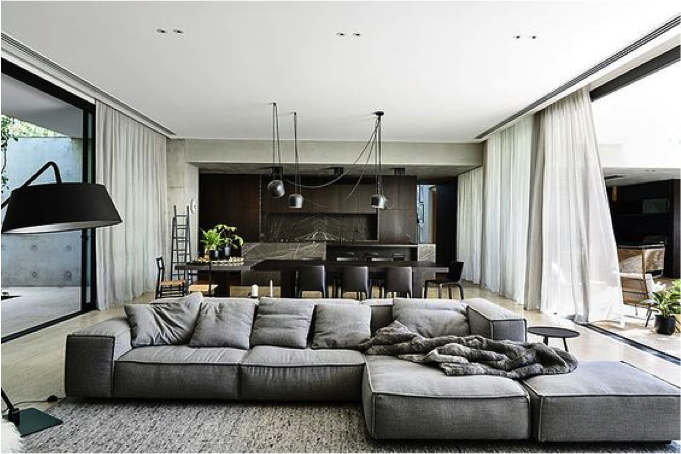 Tips voor het inrichten van een grote ruimte atelier09 - Ontwikkel een grote woonkamer ...