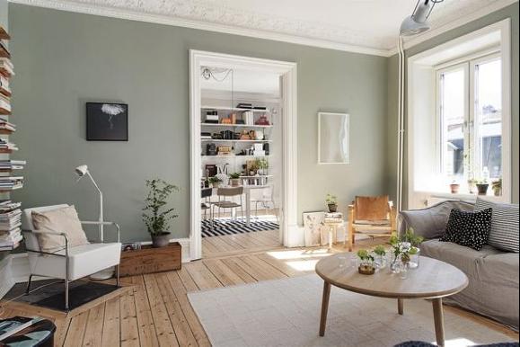 Welke muur kun je het beste voorzien van een accentkleur? – Atelier09