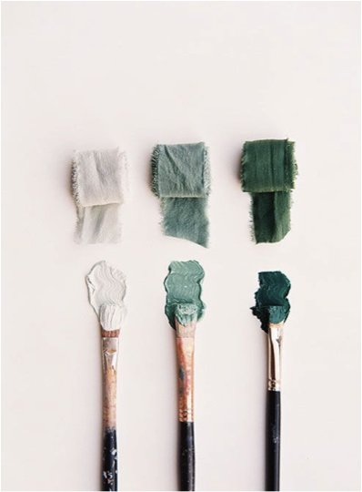 Groen penselen