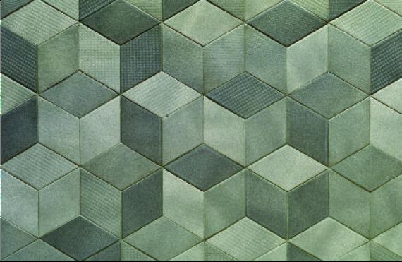 Groen tegels
