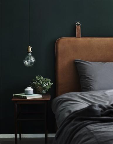 Slaapkamer gezellig hoofdbord