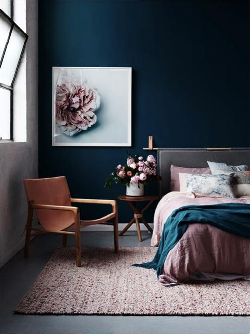 slaapkamer gezellig kleuren
