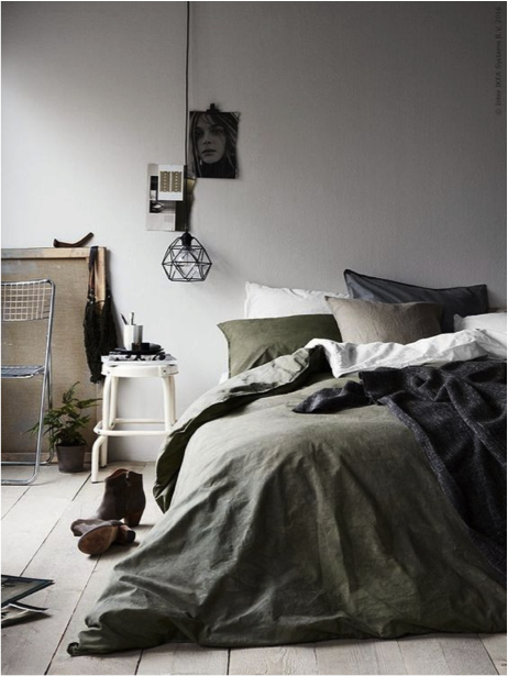 Slaapkamer gezellig kussens