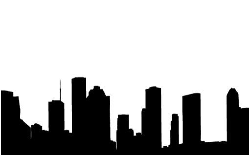 Kijk naar je interieur als naar de skyline van een grote stad!
