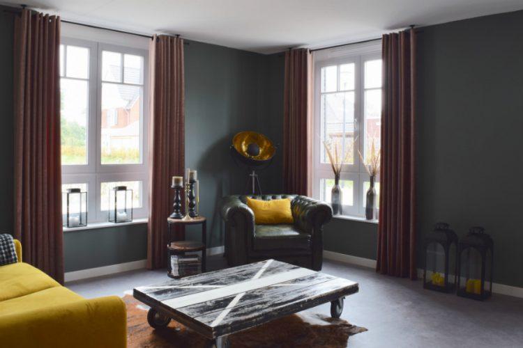 Wat een mooie sfeer in de woonkamer - Atelier09