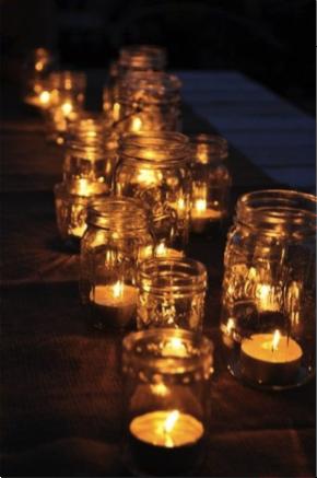 Winterproof kaarsen