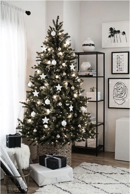 Kerstklaar kerstboom