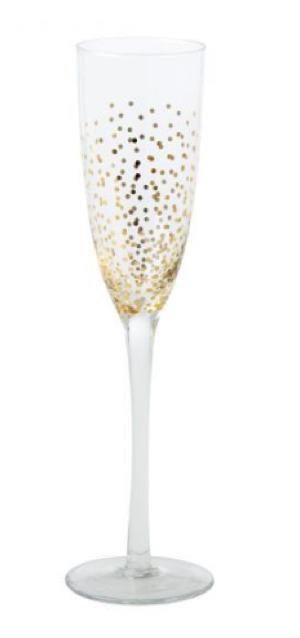 Kersttafel 2017 champagneglas