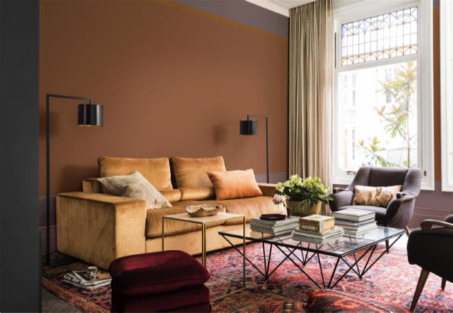 Retro en vintage trend 2018 warme kleuren