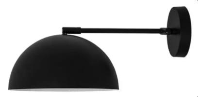 Winter verlichting basic wandlamp
