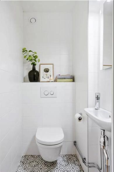 Toilet pimpen vloer