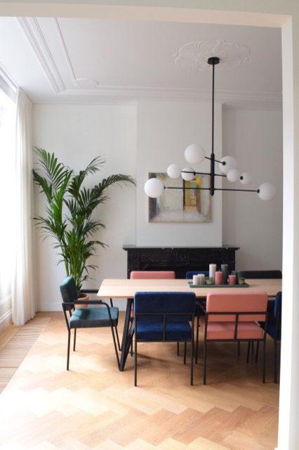 Vanuit de keuken zo de eethoek in - Atelier09