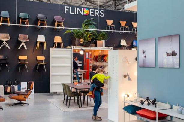 De winkel van Flinders