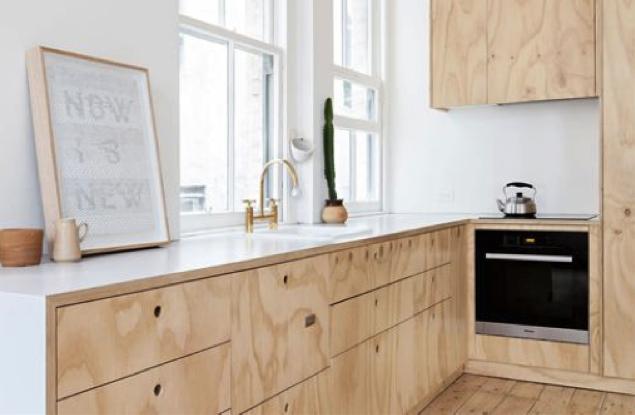 Een mooie, rustige look aan de keuken