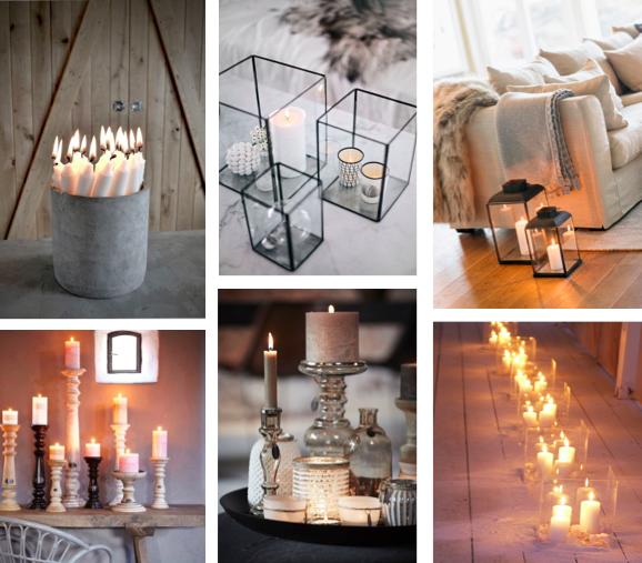 Maak het gezellig in huis met kaarsen