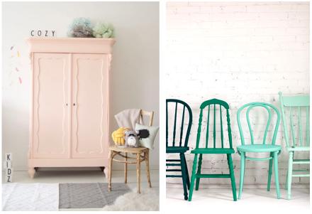 Schilder een oud meubel voor een persoonlijke touch in huis!