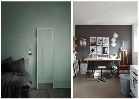 Hulp bij het kiezen van de juiste kleur op de muur