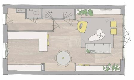 Woonkamer Indelen Plattergrond Atelier09
