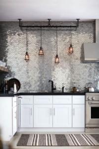 Fonkelnieuw Industriele lampen draad boven keuken - Atelier09 SO-16
