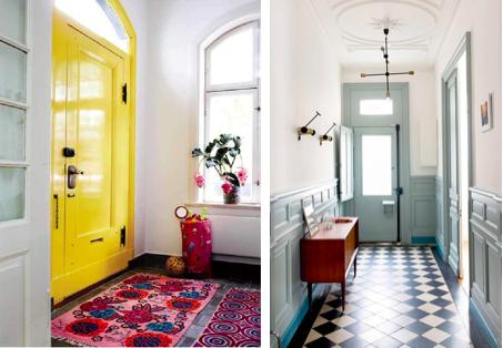 Geef je voordeur eens een opvallende kleur!