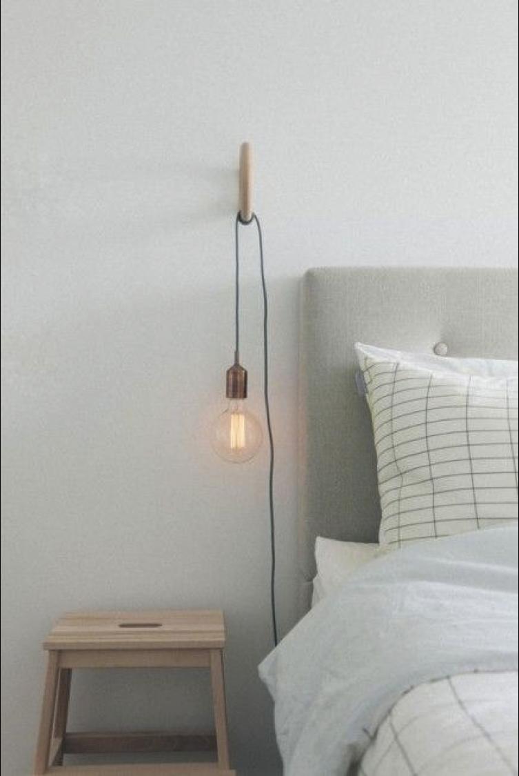 Interieurtips slaapkamer bedlamp